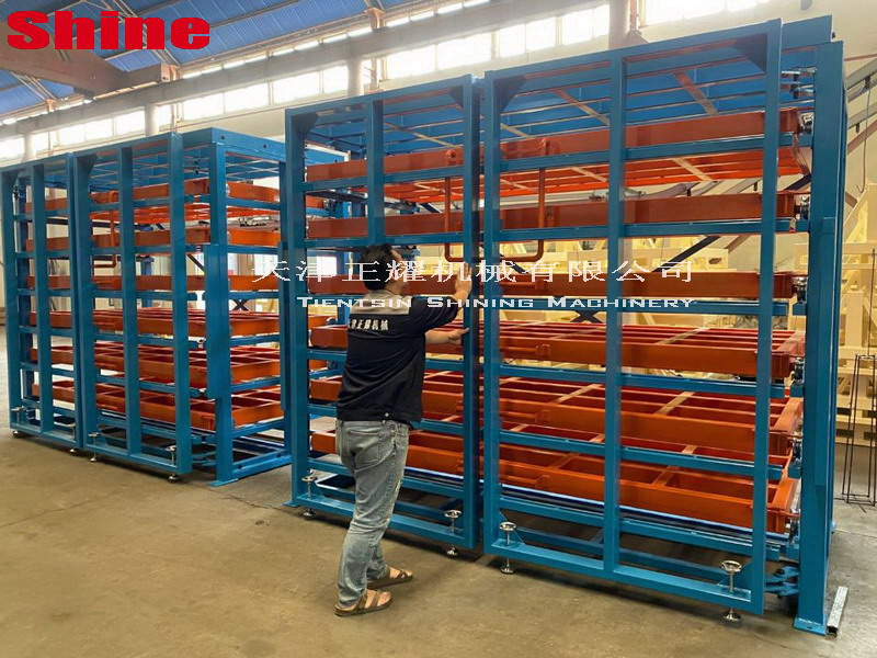title='广州4m抽屉式板材货架项目'